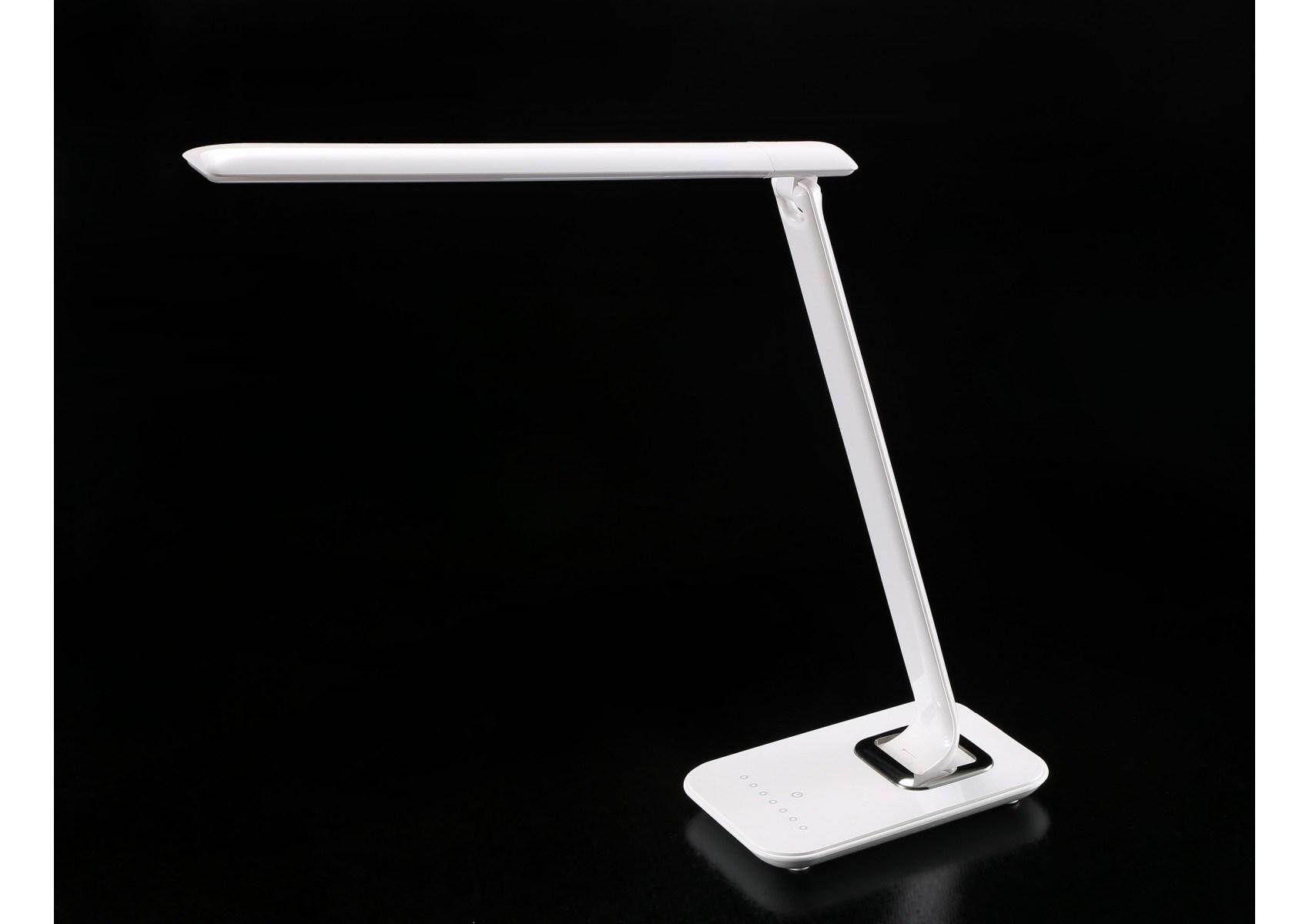 Lampe de bureau led tactile orientable usb bob aluminor