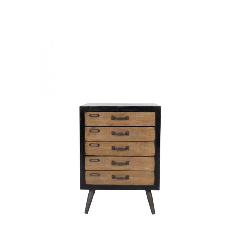 Meuble industriel vintage, petit modèle, Sol Dutchbone