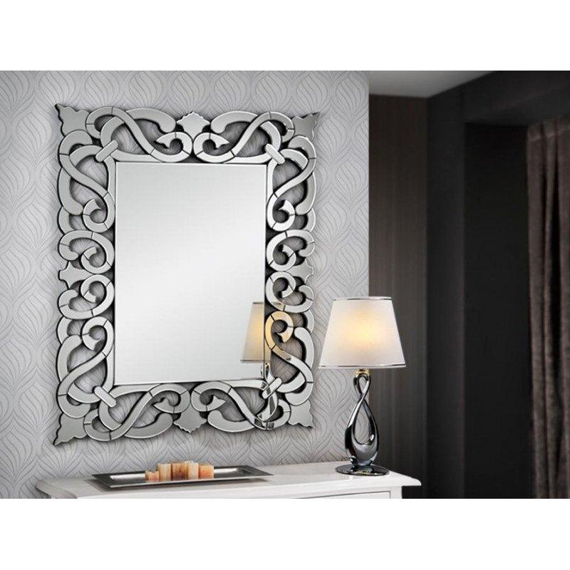 Miroir original design DUNIA RECTANGULAIRE - deco schuller