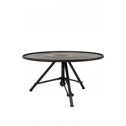 Table basse industrielle vintage Brok