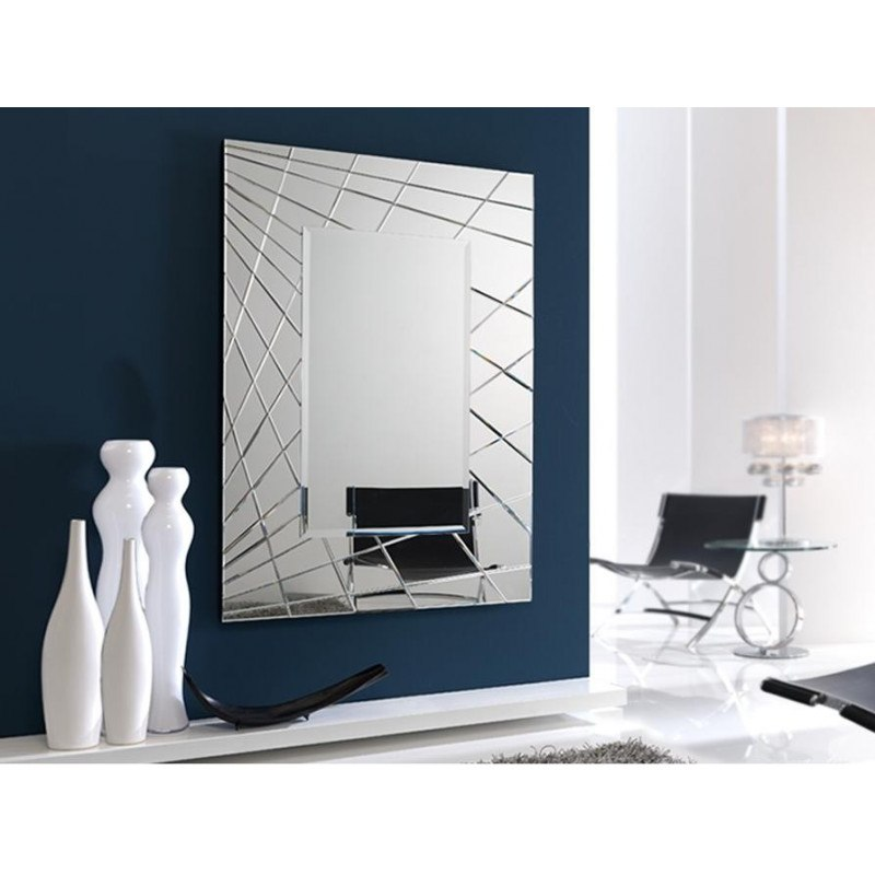 Miroir original design - FUSION RECTANGULAIRE - deco schuller