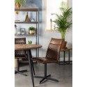 Chaise en cuir PU diamanté Ivar - Boite à design
