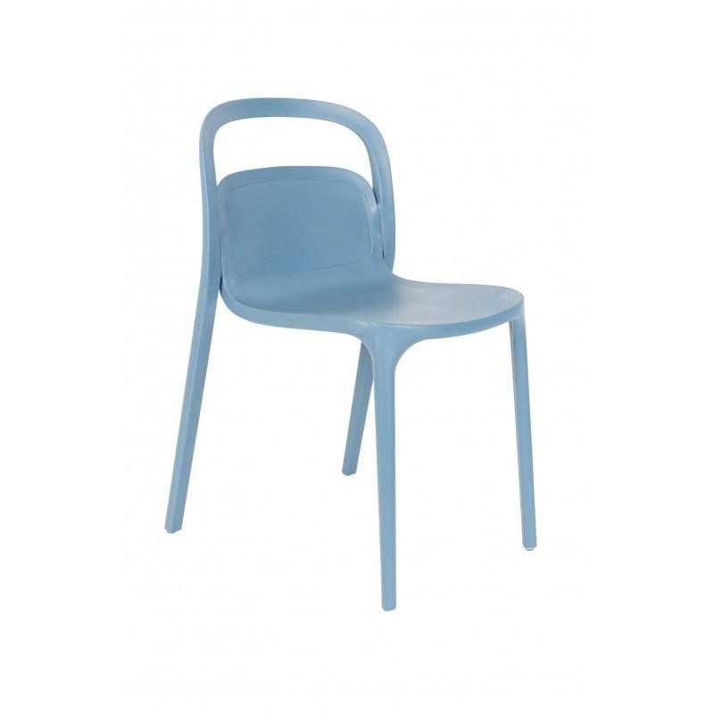 Chaises design en résine Rex - Boite à design - Lot de 2