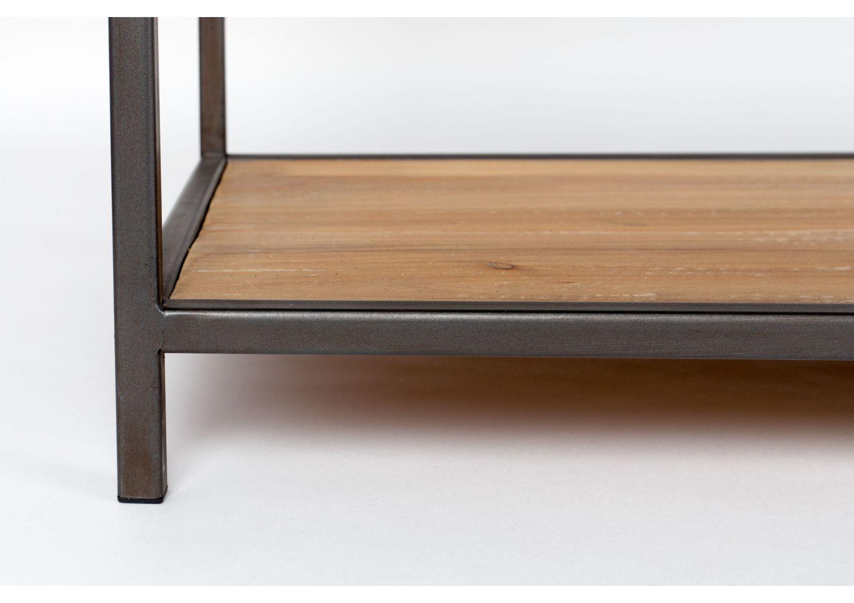 console bois massif et m tal style industriel samuel. Black Bedroom Furniture Sets. Home Design Ideas