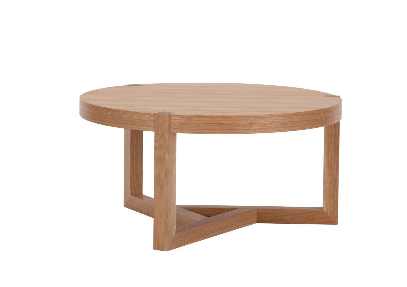 table basse ronde en bois brentwood de chez woodman. Black Bedroom Furniture Sets. Home Design Ideas