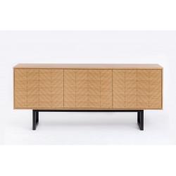 Camden Sideboard  Herringbone Print Woodman
