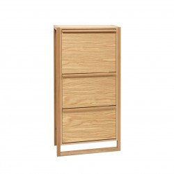 NewEst Shoe Cabinet 3 Door Woodman