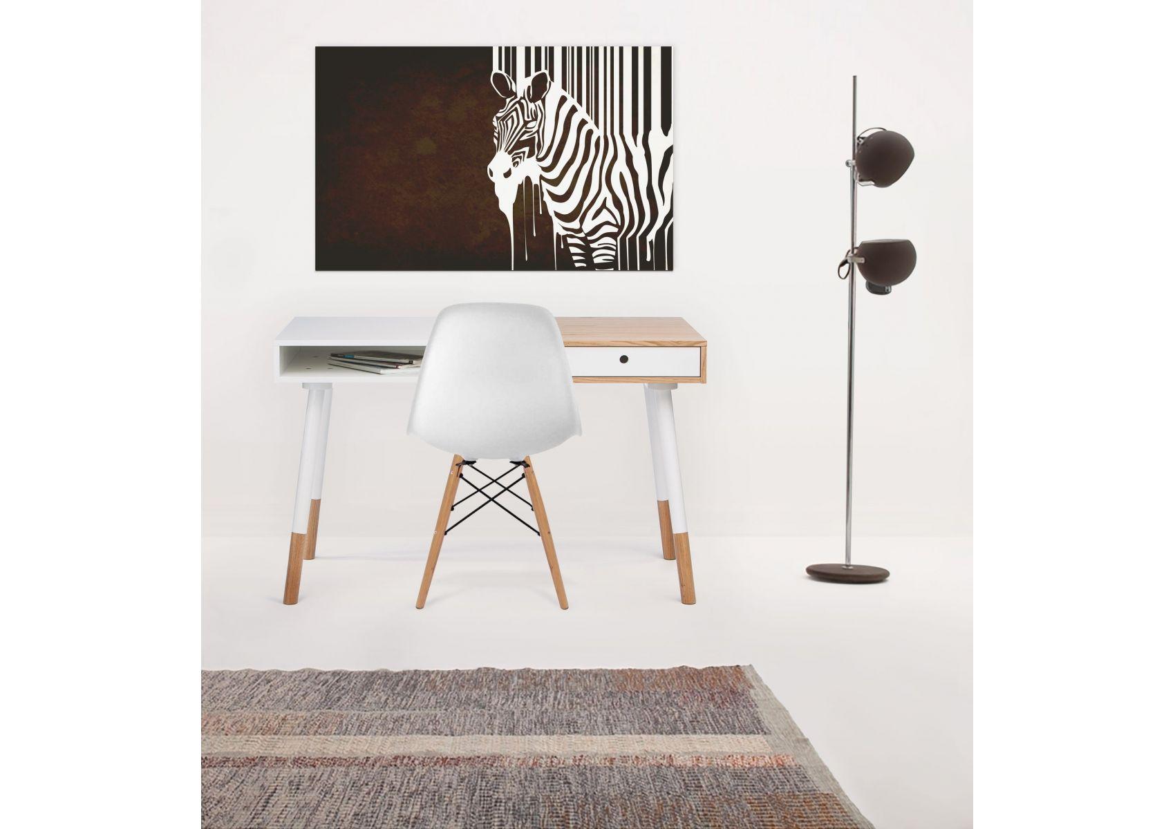 Bureau en bois scandinave sonnenblick de chez woodman avec tiroir