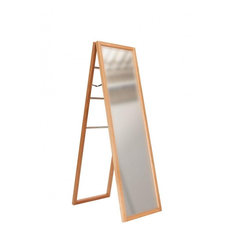 Miroir sur pied en bois NewEst