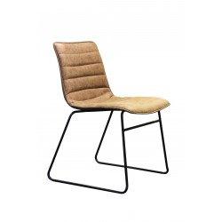 Lot de 2 chaises en simili cuir Hampton - RedCartel