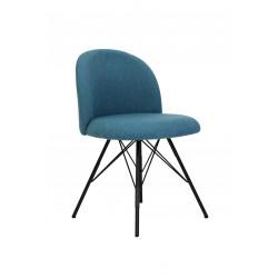 Lot 2 chaises vintage en tissu Jerry - RedCartel