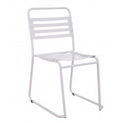 Lot de 2 chaises d'exterieur et d'interieur en métal Park - RedCartel