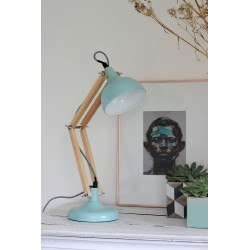 Lampe de bureau en bois articulé DEXTER MINI RedCartel