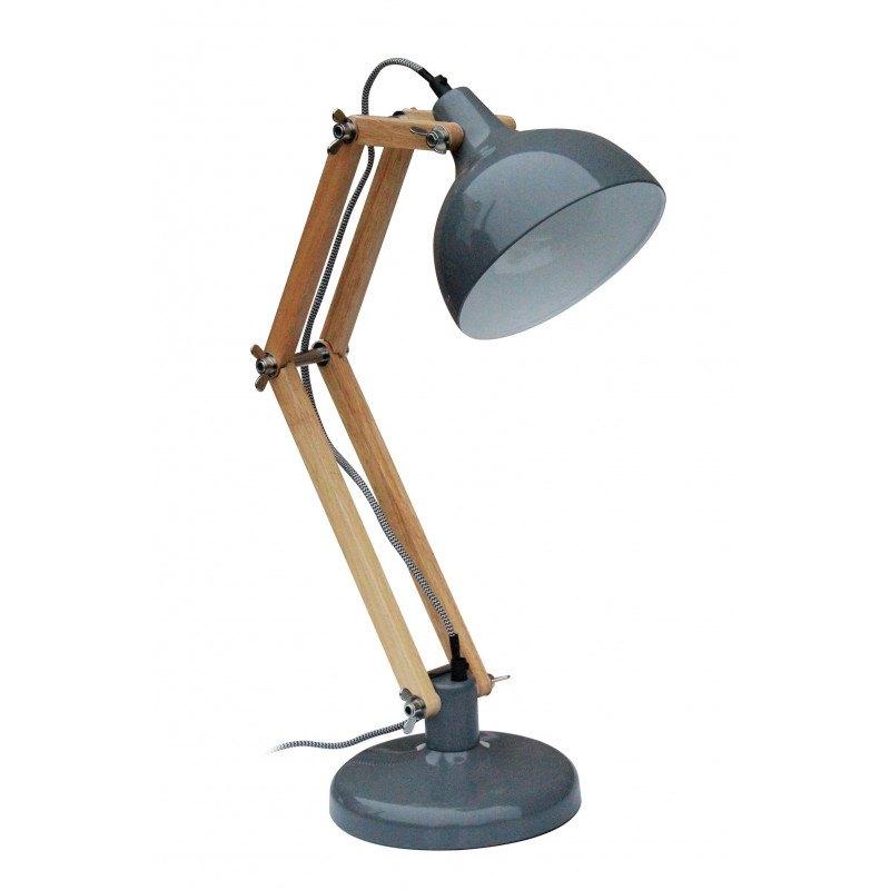 Lampe de bureau bois articulée vintage DEXTER RedCartel