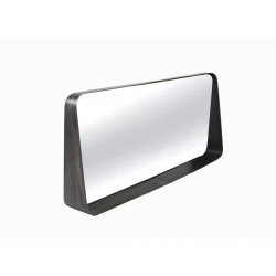 Miroir en métal avec étagère Bloom - RedCartel