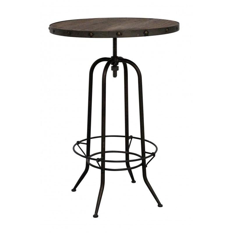 table de bar cassidy redcartel - Table Bar Industriel