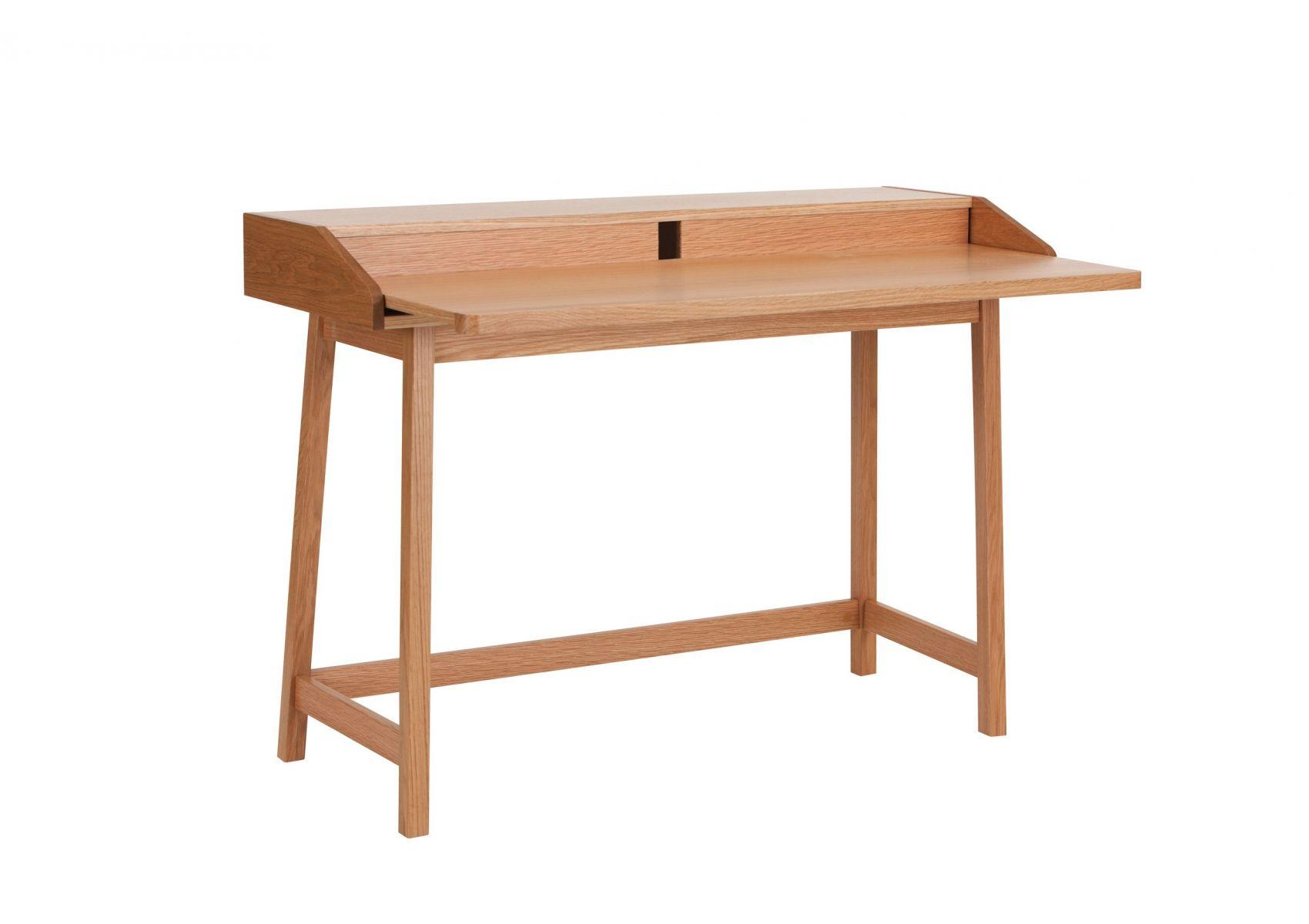 Bureau avec plateau coulissant en bois st james de chez woodman