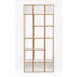 Bibliothèque design en bois Newbury - Woodman