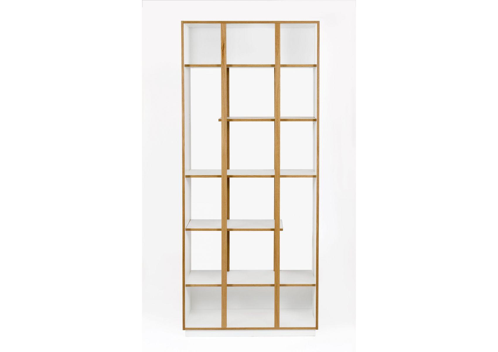 biblioth que en bois design newbury de chez woodman. Black Bedroom Furniture Sets. Home Design Ideas
