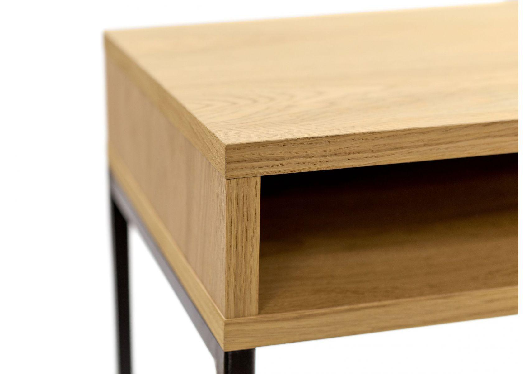 Bureau haut en métal et bois frame de chez woodman