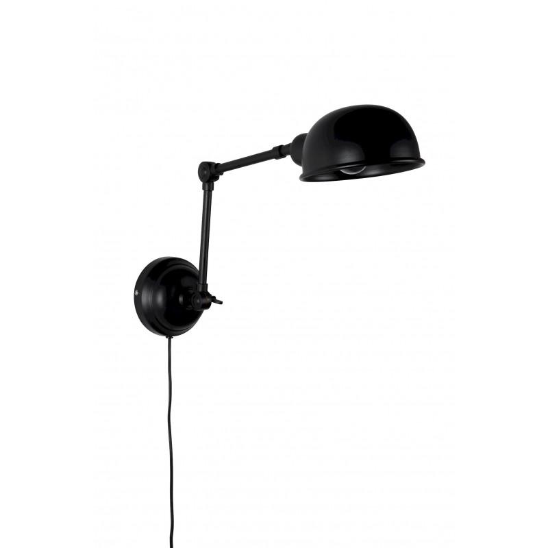Applique noire métal Maarten - Boite à design