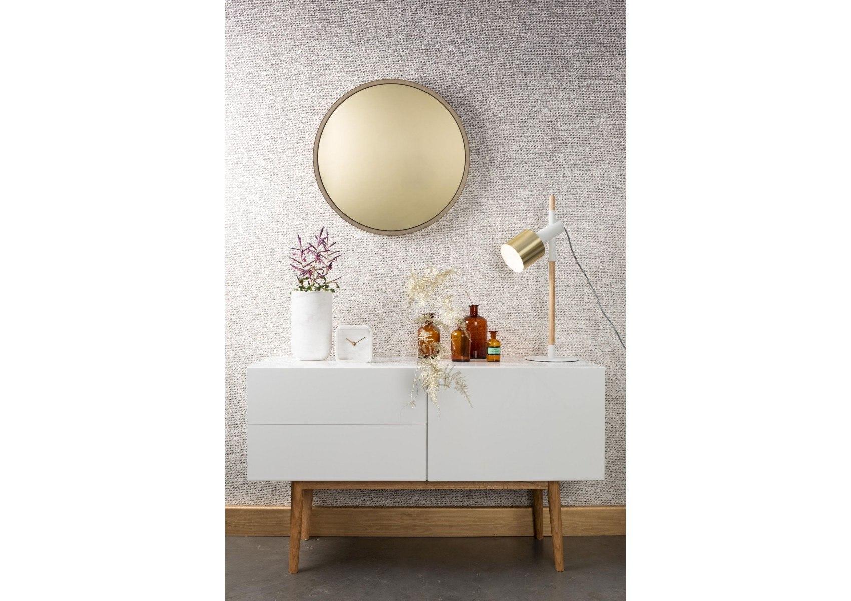 Miroir rond original teint bandit zuiver for Miroir teinte design