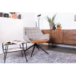 Chaise de salon pivotante Doulton - Zuiver