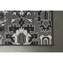 Tapis gris graphique original Studio - Boite à design