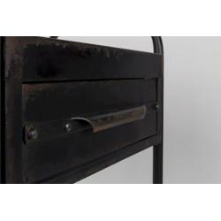 Charriot en métal vintage Vigo - Boite à design