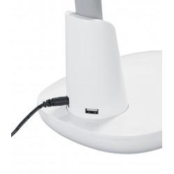 Lampe de bureau avec USB de rechargement Grande - Trio