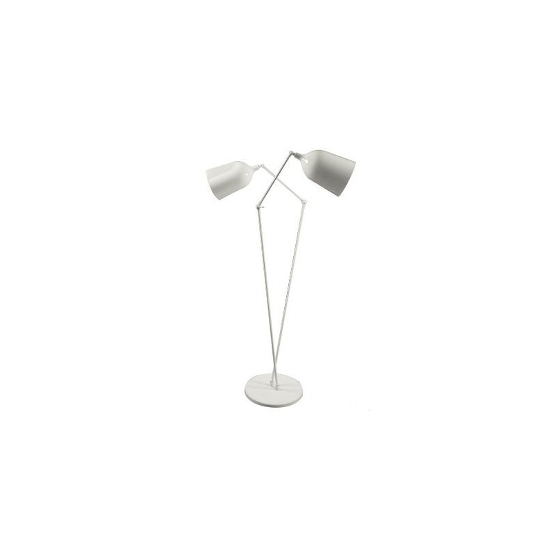 Lampadaire Twin ls design Aluminor