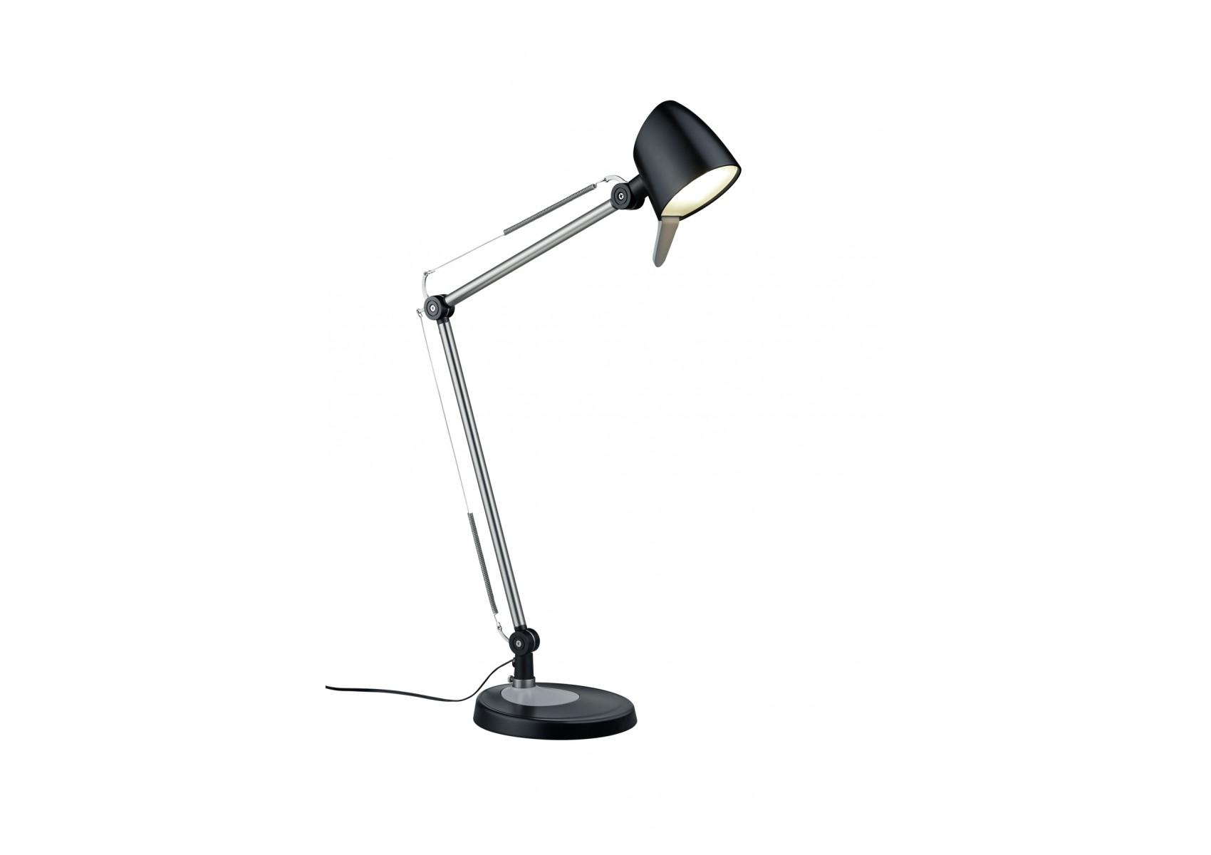 Lampe de bureau style architecte avec kit fixation rado de chez trio