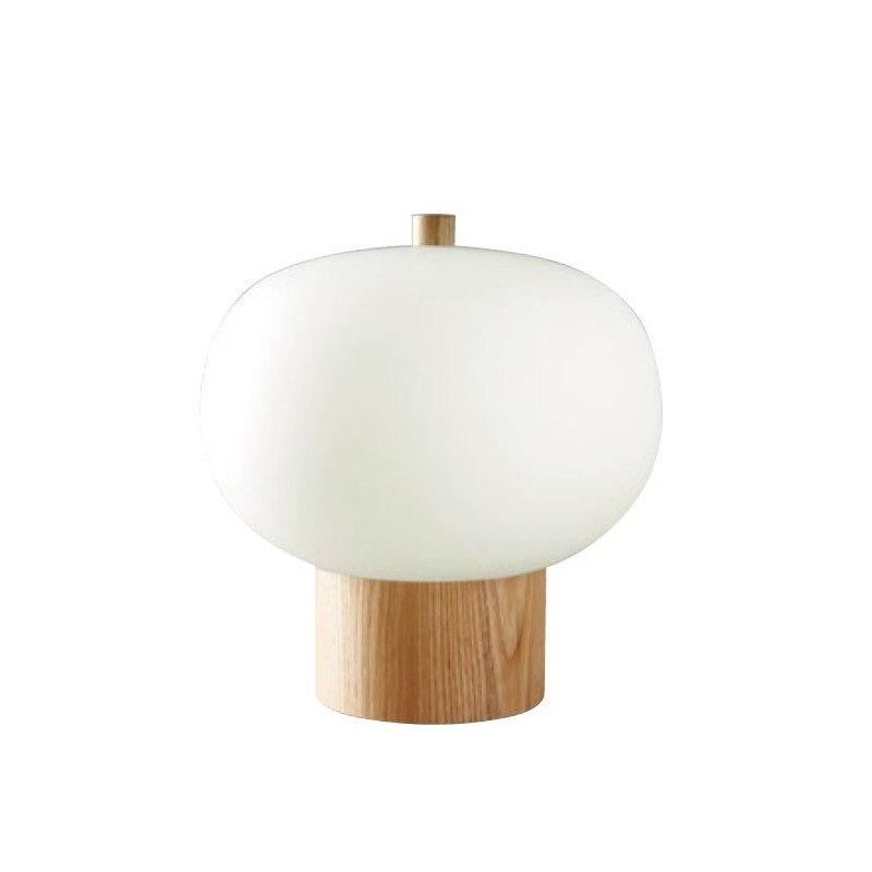 Lampe de table en bois et verre Ilargi - Leds C4