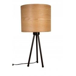 Lampe à poser abat jour bois Woodland - Dutchbone