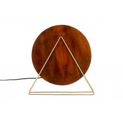 Lampe à poser en bois Louis - Dutchbone