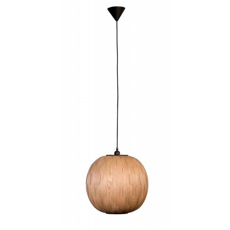 suspension en bois ronde bond dutchbone. Black Bedroom Furniture Sets. Home Design Ideas