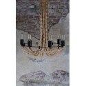 Suspension en bois vintage Beads - Dutchbone