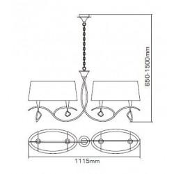 Suspension design grand modèle - Mara