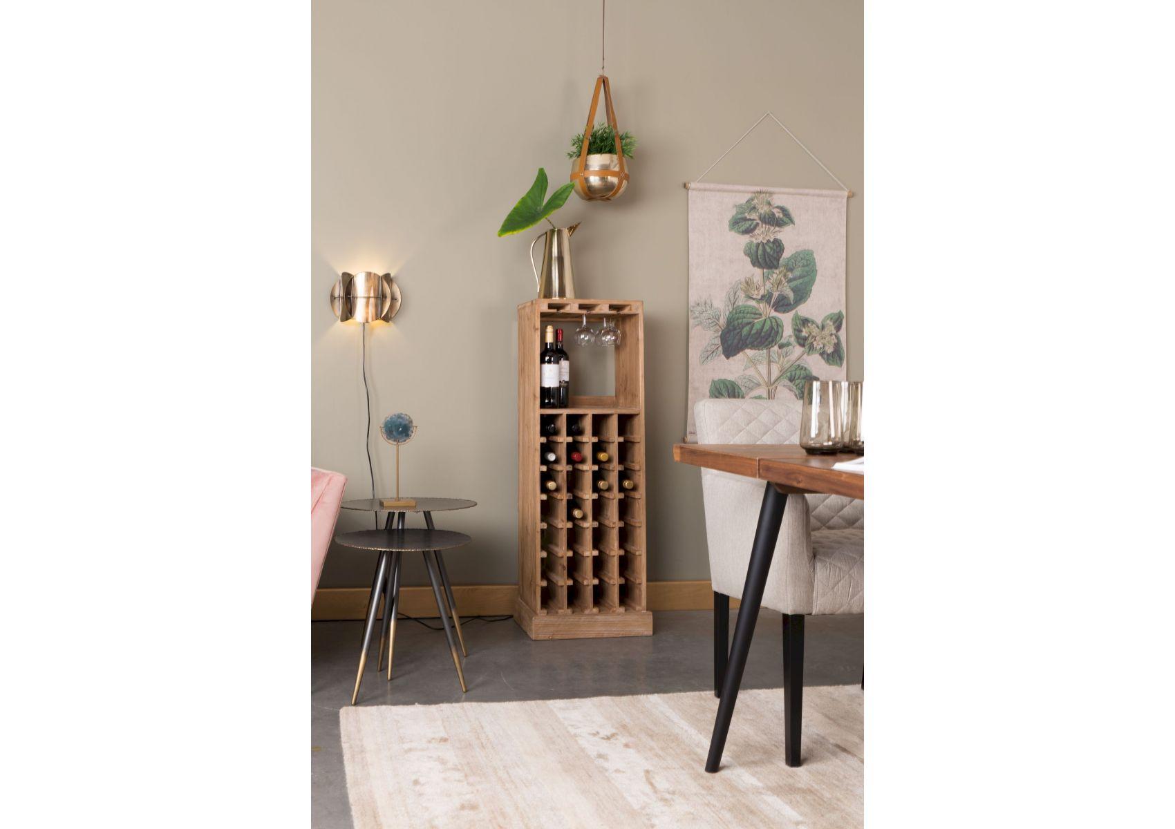 meuble range bouteilles de vin en bois avec rangement. Black Bedroom Furniture Sets. Home Design Ideas