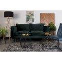 Canapé 2 places en tissu velours BERRY - Boite à design