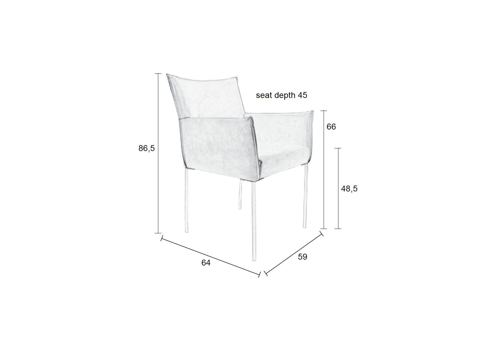 fauteuil vintage de la collection dion de chez boite design. Black Bedroom Furniture Sets. Home Design Ideas