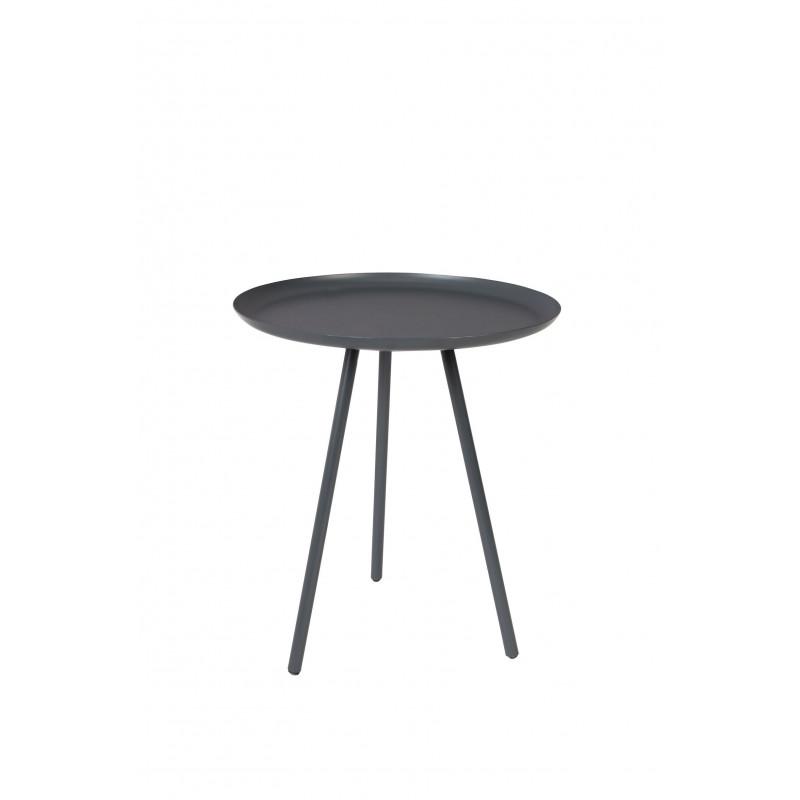 Table d'appoint design Frost trépied métal