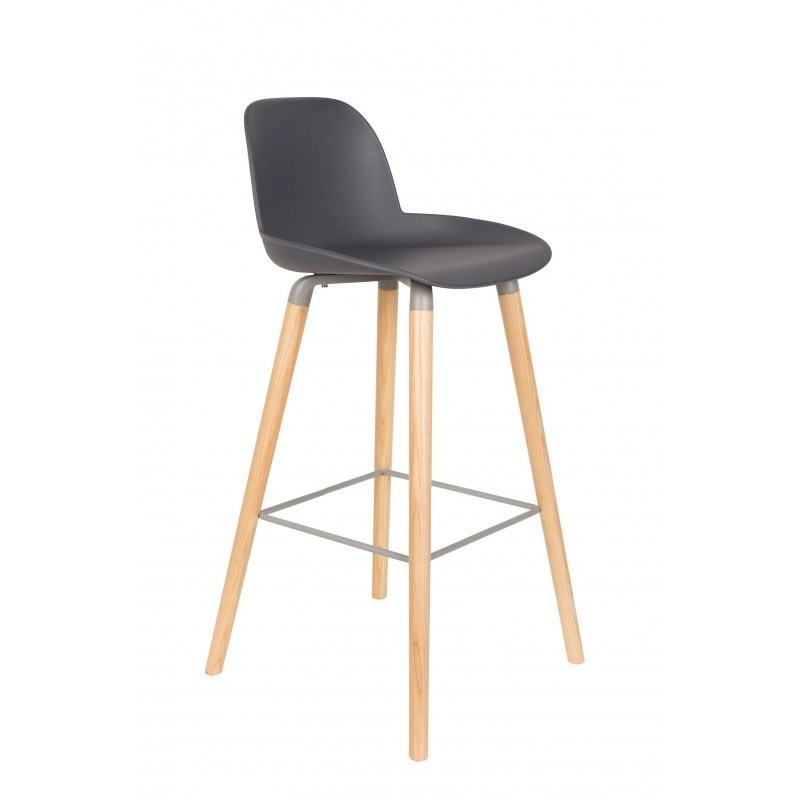 Lot de 2 tabourets scandinaves Albert Kuip 75 cm - Zuiver