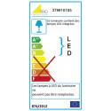 Suspension rectangulaire LED Azur - Trio