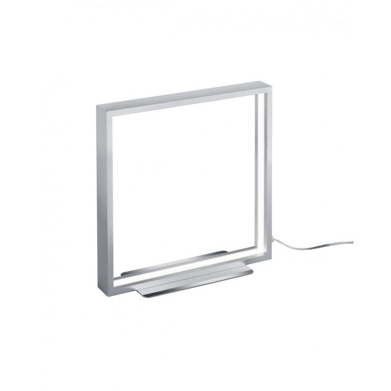Lampe à poser carré LED à variateur Azur