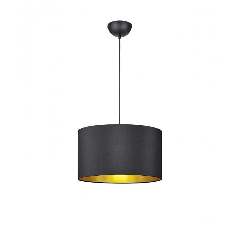suspension avec abat jour tissu hostel trio. Black Bedroom Furniture Sets. Home Design Ideas