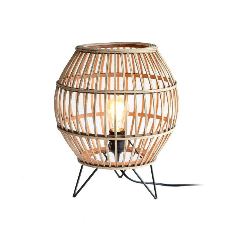 Lampe de table en rotin Balanga - RedCartel