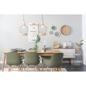 Table design extensible en bois - Glimps