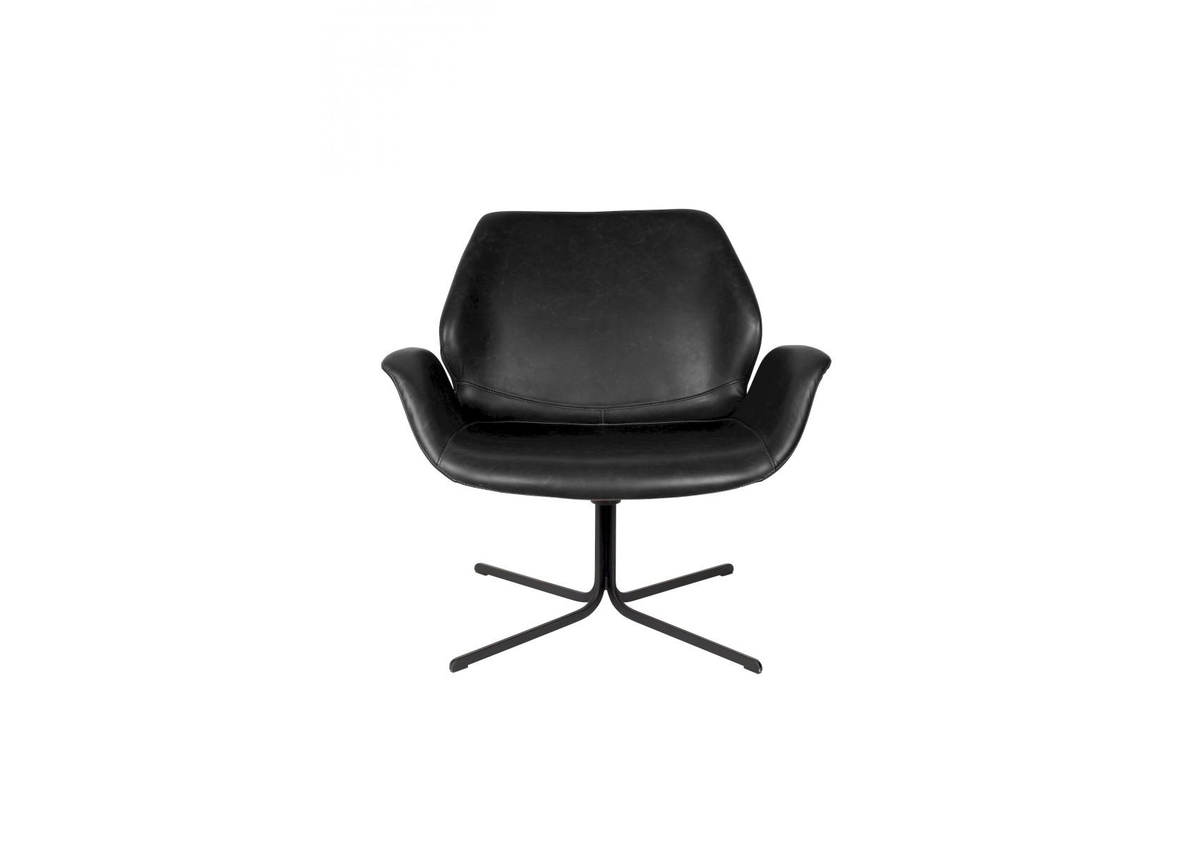 Chaise de salon pivotante nikki zuiver for Chaise zuiver