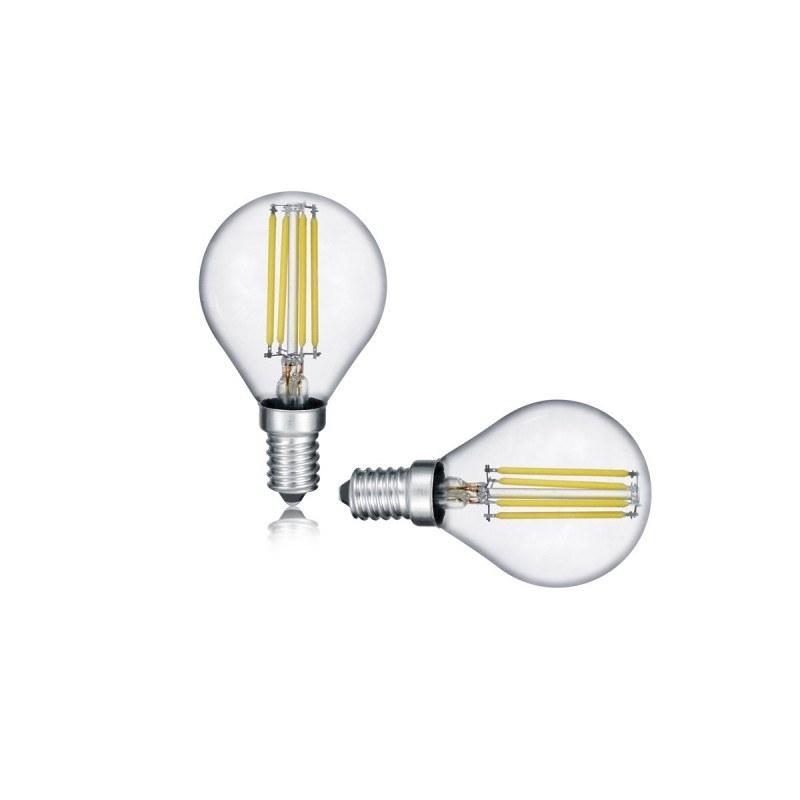 Lot de 2 ampoules E14 Led 4W - Trio